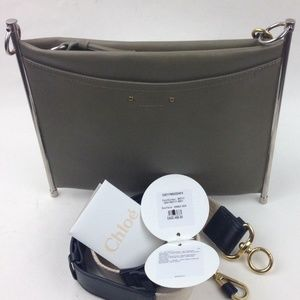 CHLOÉ Roy Single Leather Clutch shoulder bag